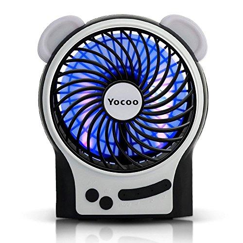 solar battery fan - 7