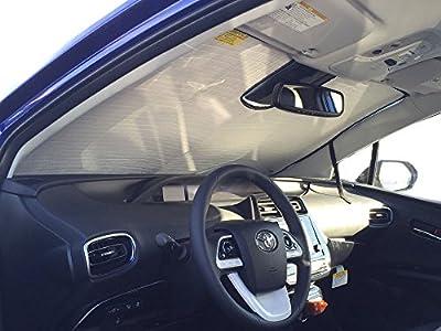 The Original Auto Sunshade, Custom-Fit for Toyota Prius Prime Hatchback (5D) 2016-2018 w/Sensor Sunshield