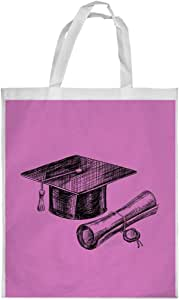 Graduation Day Logo Printed Shopping bag, Large Size