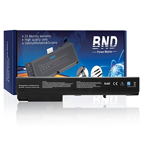 BND Laptop Battery for HP Compaq NX9420 8510 8510W 8710W 8710P 8510P NC8430 NX7400 NX8200 NX8230 NX9400 - 12 Months Warranty[8-Cell 4400mAh/65Wh]