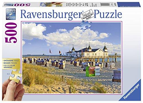 Ravensburger Beach Chairsin Ahlbeck-Baltic Sea Jigsaw Puzzle (500 Piece)