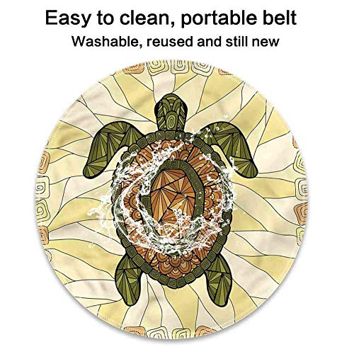 Mouse Pad Lockrand Turtle,Turtle Zentangle Artwork