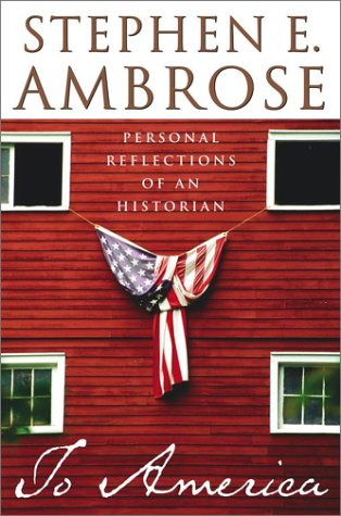 book cover of To America