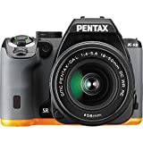 Pentax 13207 K-S2 - Digital camera - High Definition - SLR - 20.12 Mpix - 3 x optical zoom DA 18-50mm DC WR RE lens - Wi-Fi, NFC - black, orange