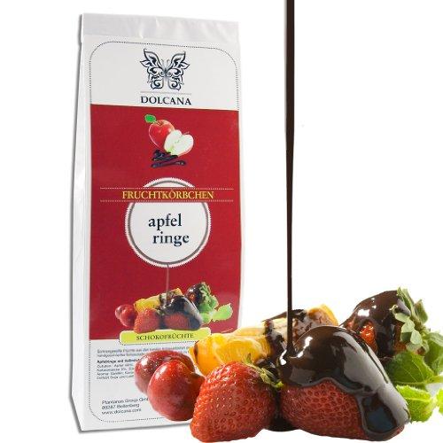 Dolcana Schokofrüchte - Apfelringe in Vollmilchschokolade, 1er Pack (1 x 150 g Packung)
