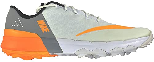 Nike FI Flex Spikeless Golf Shoes 2017 Women White Laser Orange Wolf Gray  Medium e9df137bb