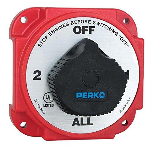 - Perko Heavy Duty Battery Selector Switch w/Alternator Field Disconnect