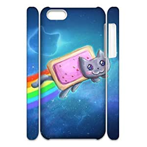 TOSOUL Customized 3D case Lovely Cat for iPhone 5C