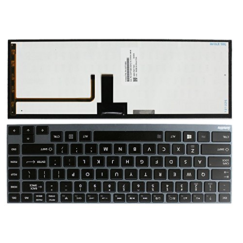Laptop US Keyboard With Backlit for Toshiba Portege Z930-SP3242L Z935-P300 Z935-P390 (Portege Toshiba Keyboard)