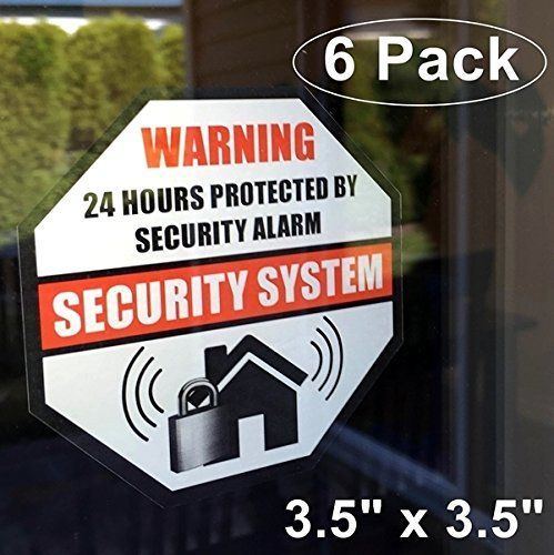 Home Alarm Stickers - 4