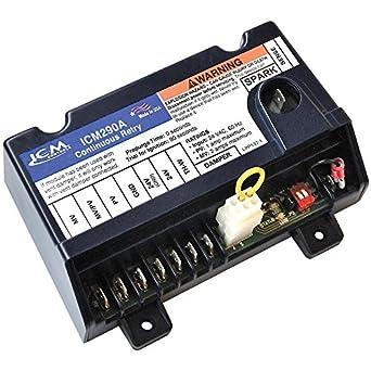 Icm controles icm290 a IPI Gas Control de encendido de repuesto para modelos, incluyendo Honeywell s8610u-3009: Amazon.es: Amazon.es