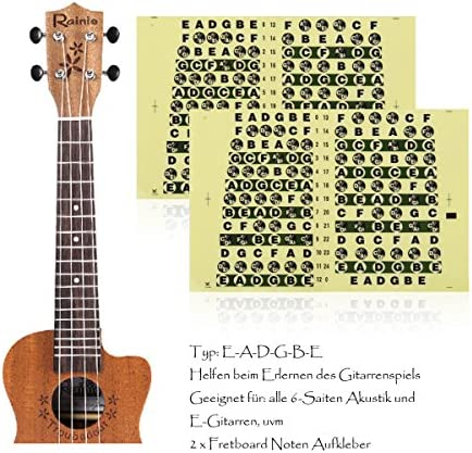 Guitarra afilar imágenes perfecto para principiantes, alaman 100 ...