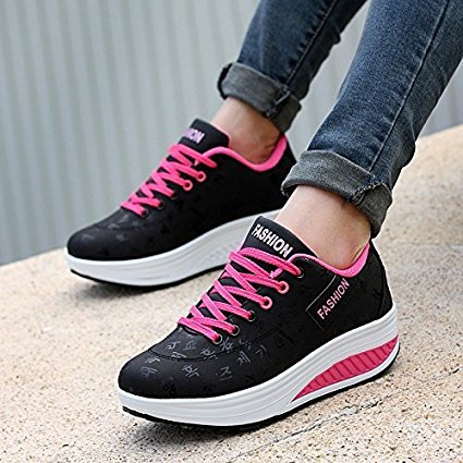 Winter and Spring Fashion Womens Light Running Sneakers Breathable Sport Shoes