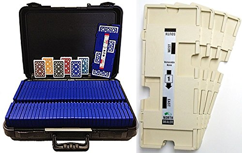36 Imperial-Plus Duplicate Boards-Almond, 36 Decks Baron ALL-PLASTIC Cards & Carrying Case 6354W by Baron Barclay