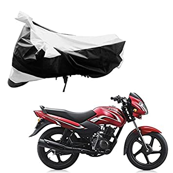 Adroitz Bike Covers Bike Body Cover For Tvs Sport In Black And
