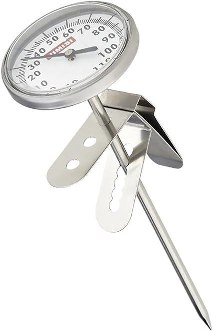 Acier Inoxydable Bbq nourriture cuisson viande Café Lait Sonde Thermomètre Jauge Outil #