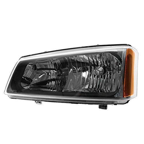 (Tiffin Allegro 2007-2008 RV Motorhome Left (Driver) Replacement Front Headlight with Bulbs)