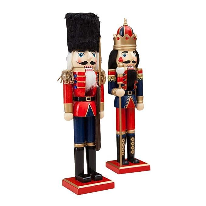 Puppet Dekorative Anh/änger Figuren Ornamente Puppen Figuren Puppen Spielzeug Class-Z Holzsoldat Dekoration,Qualit/ätsweihnachtsgeschenk f/ür M/änner u