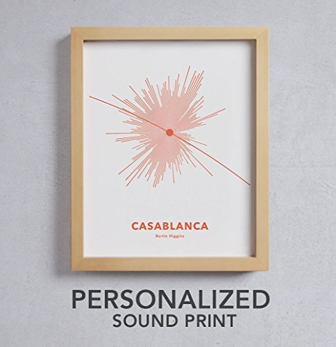 Personalized House Warming Gift - NEW STAR Custom Soundwave