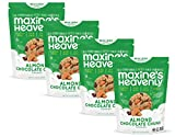 Maxine's Heavenly - Gluten Free, Soy Free, Non-GMO, Vegan - Almond Chocolate Chunk Cookies - 7.2 ounce bags (4 pack)
