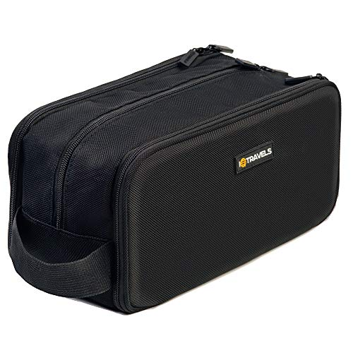 Dopp Kit (12 Inches) 3 Compartments + Waterproof Bag - Easy Organization Travel...
