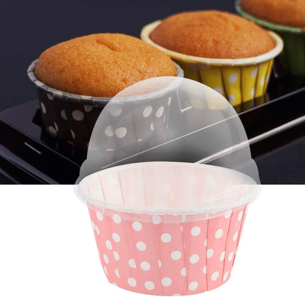 bodas azul hornear fiestas para el hogar 100 moldes redondos para cupcakes y magdalenas pasteler/ía magdalenas para tartas cumplea/ños