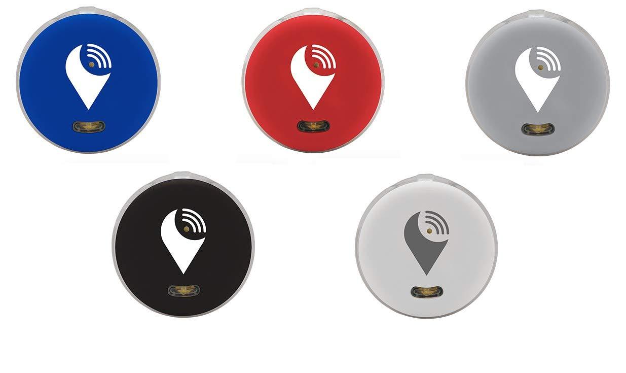 Accesorios de telefon/ía m/óvil Gris Negro Azul y Rojo Pack de 5 localizadores Pixel Blanco Trackr Comprar al Mejor Precio