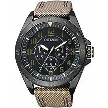 Citizen BU2035-05E Eco-Drive Men's Watch in Stainless Steel