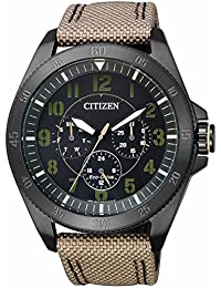Citizen BU2035-05E Eco-Drive Men's Watch in Stainless Steel