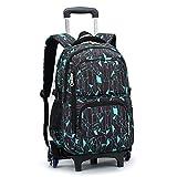 Best Rolling Backpacks For Girls - Kids Trolley Schoolbag Backpack - Boys Girls Rolling Review