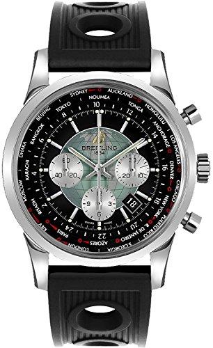 Breitling Transocean Chronograph Unitime Mens Watch AB0510U4/BB62-201S