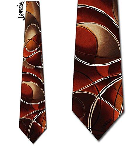 Jerry Garcia (Emerging Elephant - Brown) Tie Mens neckite (Emerging Elephant)