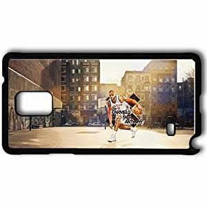 Personalized Samsung Note 4 Cell phone Case/Cover Skin 14637 carmelo anthony 3 sm Black