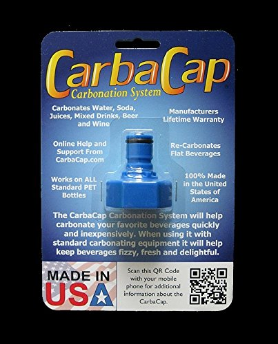 CARBONATER CAP C02 VALVE COUPLING CARBONATE SODA BEER TONIC CHAMPAGNE CARBONATION CARBONATOR by CARBONATER (Image #9)