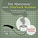 Die Abenteuer von Sherlock Holmes: Das Original - 12 Krimis Hörbuch von Sir Arthur Conan Doyle Gesprochen von: Wolfgang Gerber
