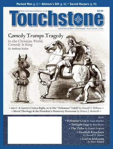 Touchstone : a Journal of Mere Christianity PDF