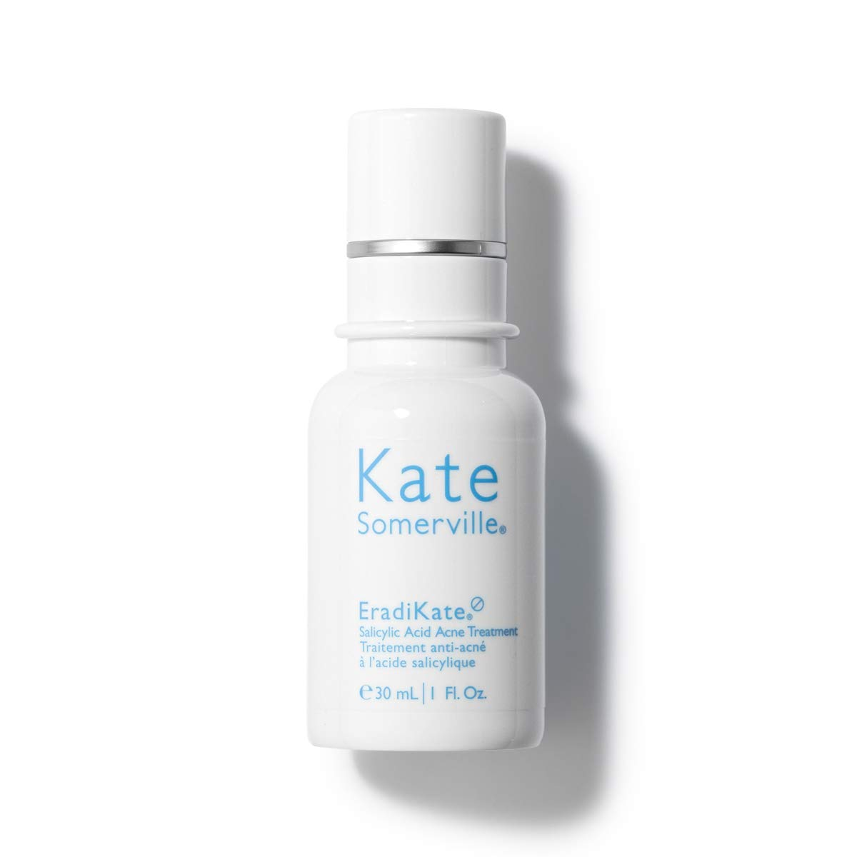 Kate Somerville EradiKate Salicylic Acid Acne Treatment (1 Fl. Oz.) Overnight Treatment Lotion to Clear & Prevent Acne Blemishes, Smooth Skin Texture, and Minimize the Look of Pores