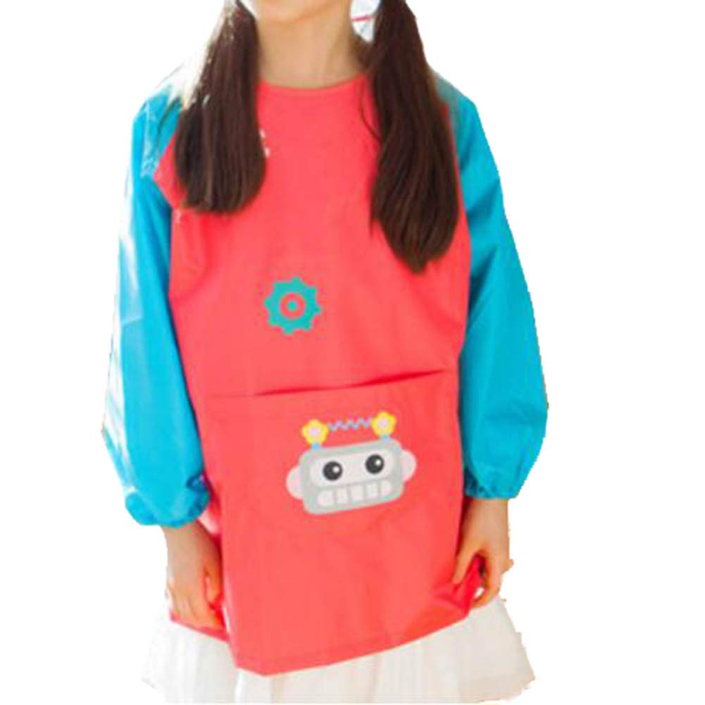 Baby Accessories Feeding Bibs Waterproof Bib Child Painting Clothes Protect-A11