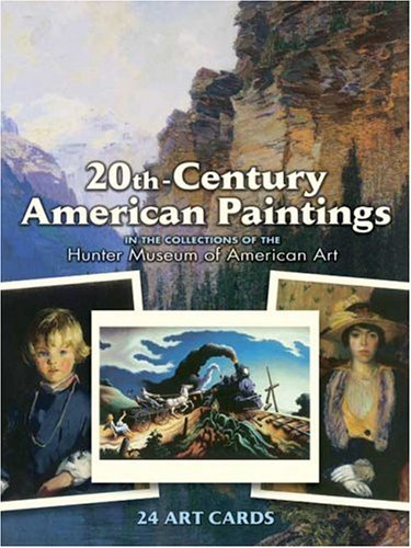 Read Online 20th-Century American Paintings: 24 Art Cards (Card Books) PDF