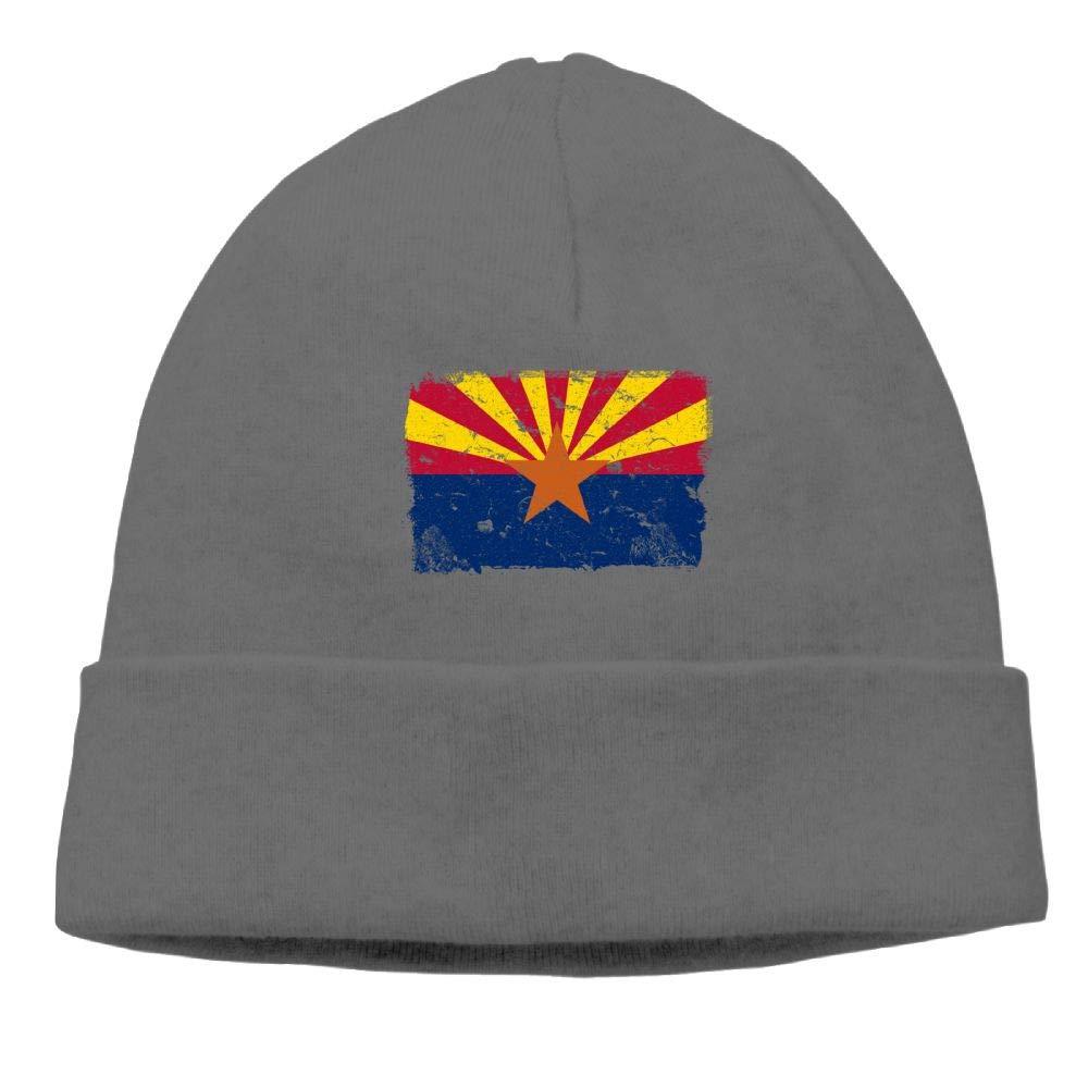 Arizona Vintage Flag Beanie Cap Knitted Caps Unisex