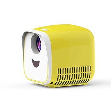 WHLDCD Proyector El más Nuevo Mini proyector para niños L1 admite ...