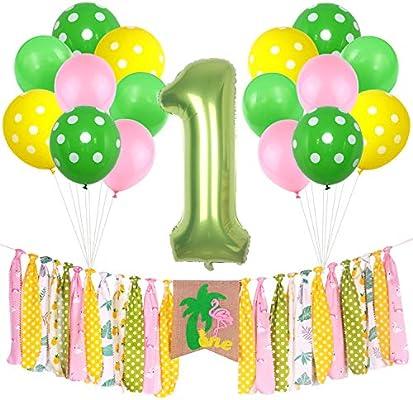 Amazon.com: ONINIT Flamingo Pineapple - Pancarta para ...