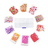 Fake Sprinkles - 10 Packs of Colorful Fake Candy