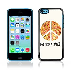 YOYOSHOP [Cool Pizza Piece Illustration] Apple iPhone 5C Case