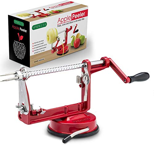 Cast Magnesium Apple/Potato Peeler Corer by Spiralizer