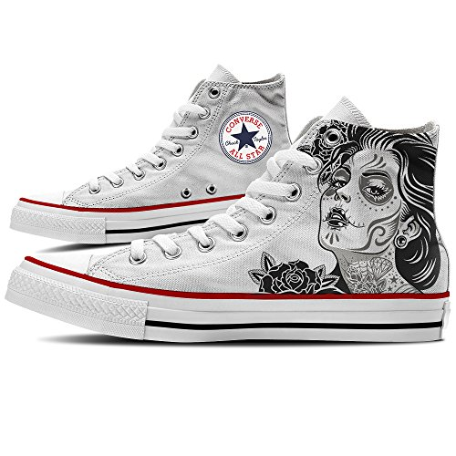 Old Star Canvas Unisex Converse Sneaker M7650c Scarpe Hi YourStyle School all Personalizzate by tXXw0zCq