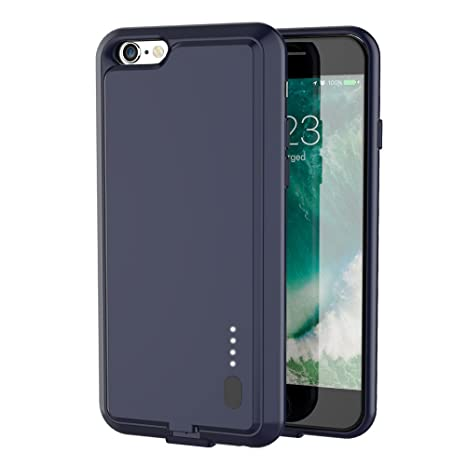 check out 27b90 6c93e iPhone 6S / 6 Battery Case - ZeeHoo Ultra Slim Extended: Amazon.in ...