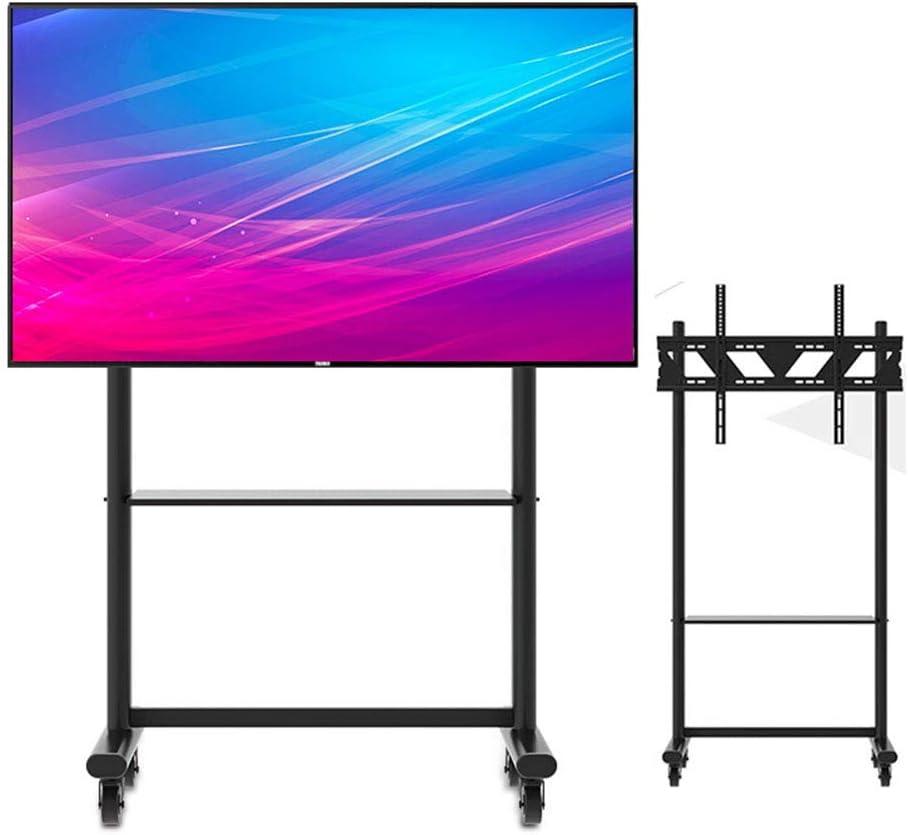 XUE Muebles Panel Plano Soporte para televisor y Consola de Entretenimiento Soporte para televisor rodante 360ºOf Giratorio para 55-90 Pulgadas LED LCD Plasma Pantallas Planas Enseñanza: Amazon.es: Hogar