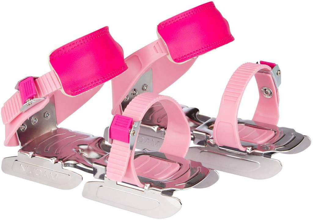 NIJDAM JUNIOR Bob Patins ajustables - Taille unique - Rose 8716404301835