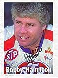 Bobby Hamilton & Jeff Burton NASCAR Driver Signed Autograph Photo - Autographed Photos